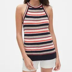 NWT Gap Knitted Striped Tank